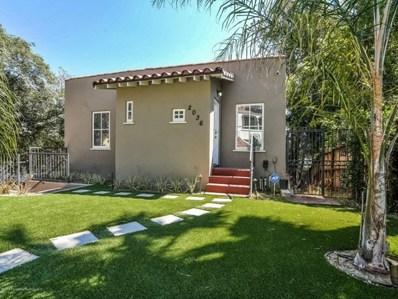 2036 Holly Hill Terrace, Los Angeles, CA 90068 - MLS#: 818000267