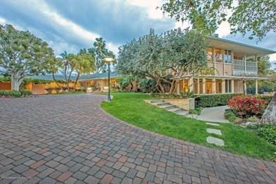 1001 Holly Vista Drive, Pasadena, CA 91105 - MLS#: 818000936