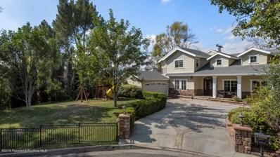 4917 Burgoyne Lane, La Canada Flintridge, CA 91011 - MLS#: 818000954