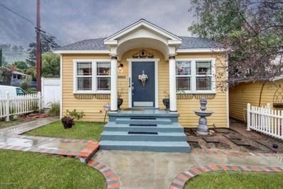 5003 Lockhaven Avenue, Los Angeles, CA 90041 - MLS#: 818000995
