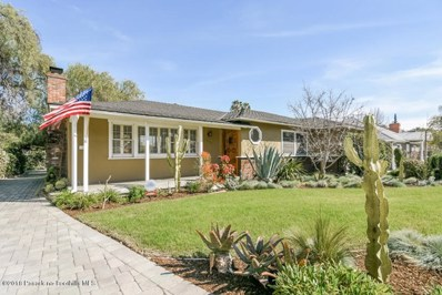 1294 Westlyn Place, Pasadena, CA 91104 - MLS#: 818001020