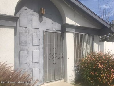 16850 VILLAGE Lane UNIT D, Fontana, CA 92336 - MLS#: 818001264