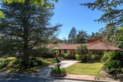 4819 Matley Road, La Canada Flintridge, CA 91011 - MLS#: 818001416