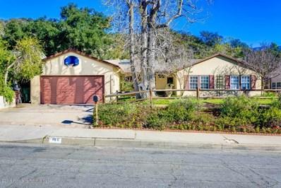 949 Eilinita Avenue, Glendale, CA 91208 - MLS#: 818001420