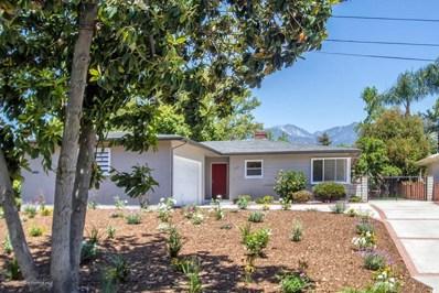 3175 Sunnyslope Boulevard, Pasadena, CA 91107 - MLS#: 818002354