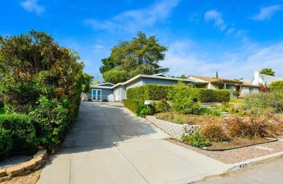 421 W Marigold Street, Altadena, CA 91001 - MLS#: 818002621