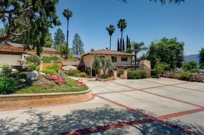 3923 Santa Carlotta Street, Glendale, CA 91214 - MLS#: 818002790