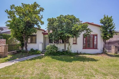 490 W Howard Street, Pasadena, CA 91103 - MLS#: 818003118