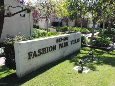 588 W Huntington Drive UNIT F, Arcadia, CA 91007 - MLS#: 818003119