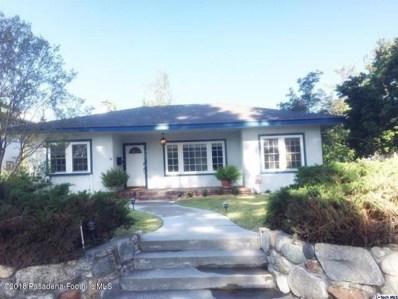 427 N Canyon Boulevard, Monrovia, CA 91016 - MLS#: 818003320