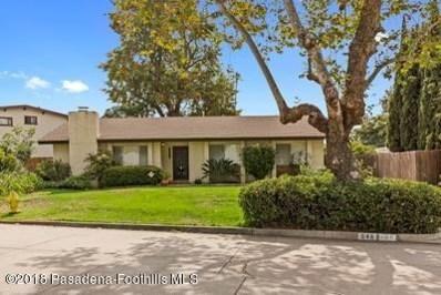 648 Arroyo Drive, South Pasadena, CA 91030 - MLS#: 818003414