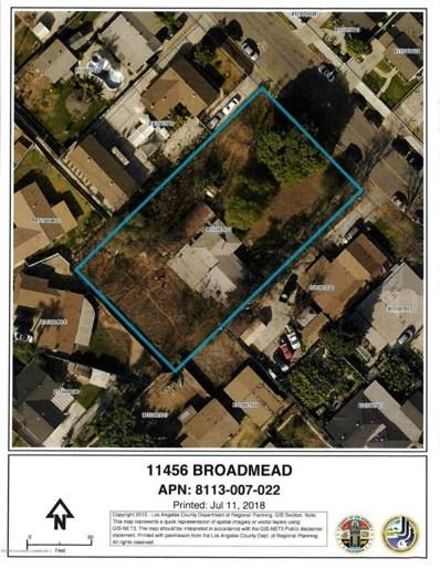 11456 Broadmead Street, El Monte, CA 91733 - MLS#: 818003590