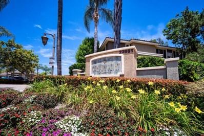 22681 Oakgrove Drive UNIT 521, Aliso Viejo, CA 92656 - MLS#: 818003731