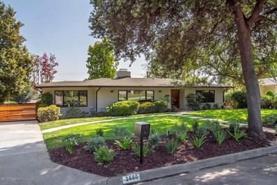 3660 Greenhill Road, Pasadena, CA 91107 - MLS#: 818004144
