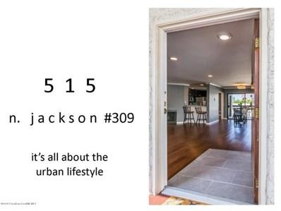 515 N Jackson Street UNIT 309, Glendale, CA 91206 - MLS#: 818004287