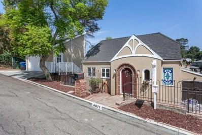 4671 Nob Hill Drive, Los Angeles, CA 90065 - MLS#: 818004333