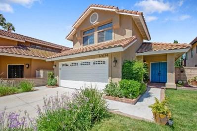 17630 Dandelion Lane, Chino Hills, CA 91709 - MLS#: 818004380