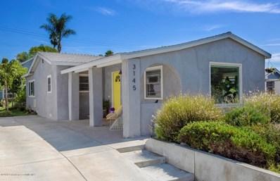 3145 Garden Avenue, Los Angeles, CA 90039 - MLS#: 818004405