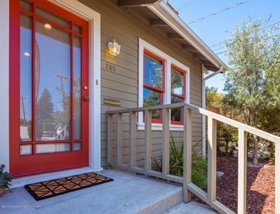 785 N Sierra Bonita Avenue, Pasadena, CA 91104 - MLS#: 818004450