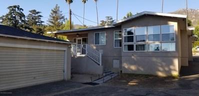 410 Punahou Street, Altadena, CA 91001 - MLS#: 818004465