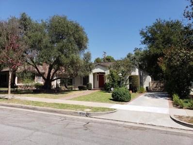 1650 Las Flores Avenue, San Marino, CA 91108 - MLS#: 818004524