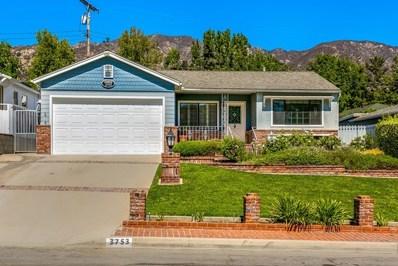 3753 Los Amigos Street, Glendale, CA 91214 - MLS#: 818004595