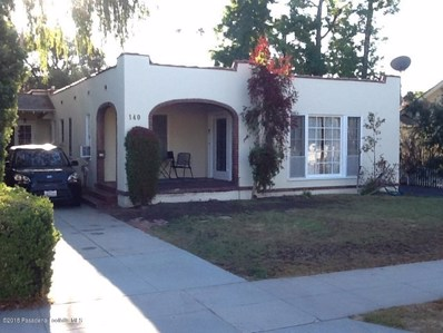 140 S Greenwood Avenue, Pasadena, CA 91107 - MLS#: 818004620