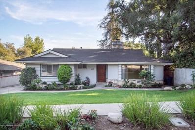 350 E Grand View Avenue, Sierra Madre, CA 91024 - MLS#: 818004819
