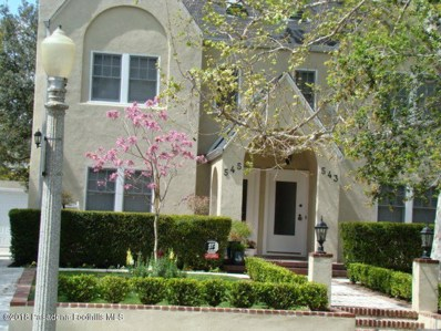 543 S Hudson Avenue UNIT 545, Pasadena, CA 91101 - MLS#: 818005059