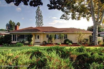 3810 Fairmeade Road, Pasadena, CA 91107 - MLS#: 818005074