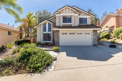 3191 Oak Creek Road, Chino Hills, CA 91709 - MLS#: 818005135