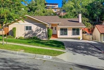 248 Camino Del Sol, South Pasadena, CA 91030 - MLS#: 818005164