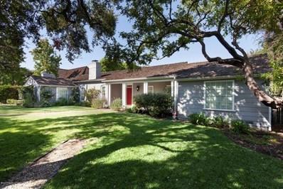 3657 Ivydale Court, Pasadena, CA 91107 - MLS#: 818005239