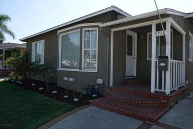 5718 Eckleson Street, Lakewood, CA 90713 - MLS#: 818005296