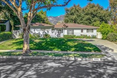 3605 Hampton Road, Pasadena, CA 91107 - MLS#: 818005428