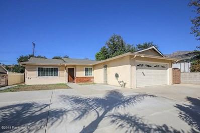 9837 Tujunga Canyon Place, Tujunga, CA 91042 - MLS#: 818005556
