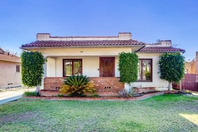 78 W Terrace Street, Altadena, CA 91001 - MLS#: 818005836