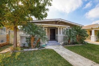 1820 W 38th Street, Los Angeles, CA 90062 - MLS#: 818005910