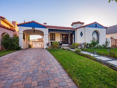 816 Burchett Street, Glendale, CA 91202 - MLS#: 819000094