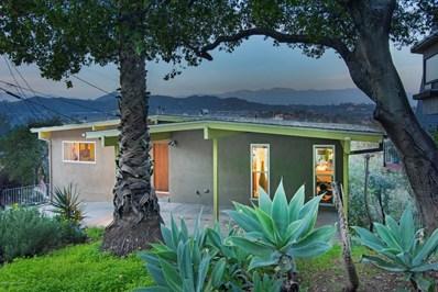 1623 Silverwood Drive, Eagle Rock, CA 90041 - MLS#: 819000554