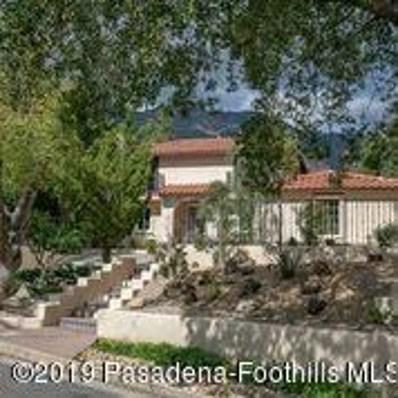 2085 Glenview Terrace, Altadena, CA 91001 - MLS#: 819001057