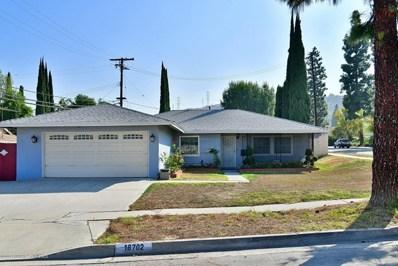 18702 Alderbury Drive, Rowland Heights, CA 91748 - MLS#: 819001090