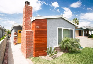 1117 N Buena Vista Street, Burbank, CA 91505 - MLS#: 819001777