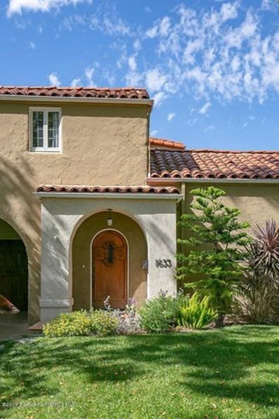 1633 Santa Barbara Avenue, Glendale, CA 91208 - MLS#: 819001807