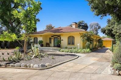1377 Palm Terrace, Pasadena, CA 91104 - MLS#: 819004592