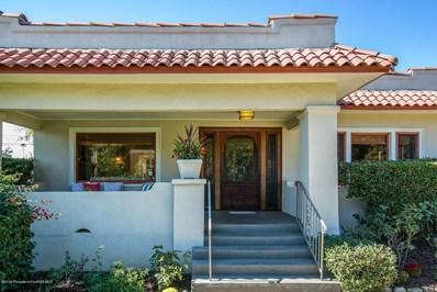 1277 N El Molino Avenue, Pasadena, CA 91104 - MLS#: 819005181