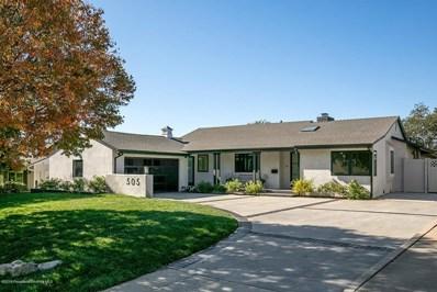 505 Cliff Drive, Pasadena, CA 91107 - MLS#: 819005272