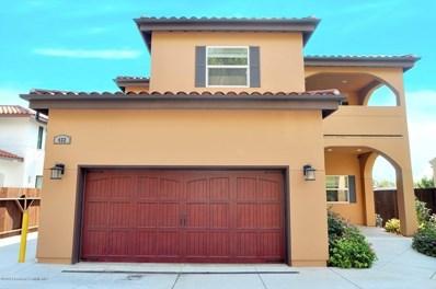 432 E Sacramento Street, Altadena, CA 91001 - MLS#: 819005359