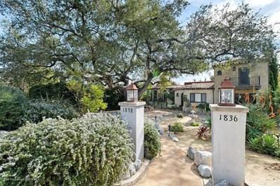 1836 Homewood Drive, Altadena, CA 91001 - MLS#: 820000554