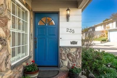 235 Hampden Terrace, Alhambra, CA 91801 - MLS#: 820000615